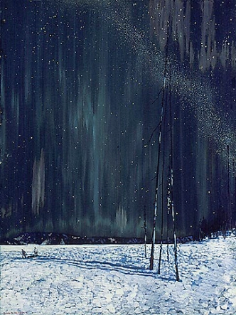 a_northern_night_by_frank_johnston_1917-1