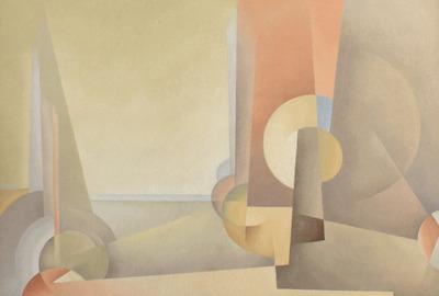 Fitzgerald Composition No 5 1953 oc 18x26 Kaspar web