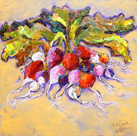 Radiant Radish Blend by Elizabeth St. Hilaire Nelson