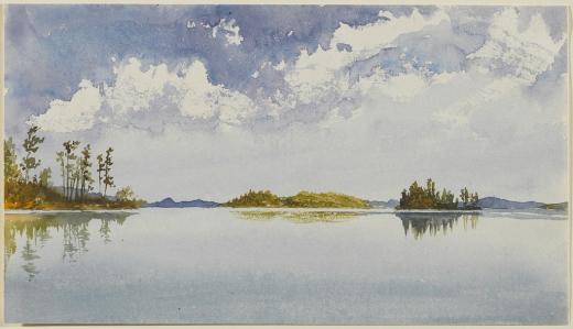 Daniel Wilson~ Trading Lake, Muskoka