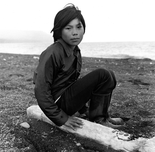 Tununak, Alaska, July 1977~Alex Harris
